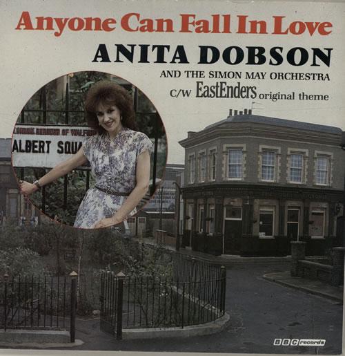 "Anita Dobson Anyone Can Fall In Love 7"" vinyl single (7 inch record) UK ANI07AN70301"
