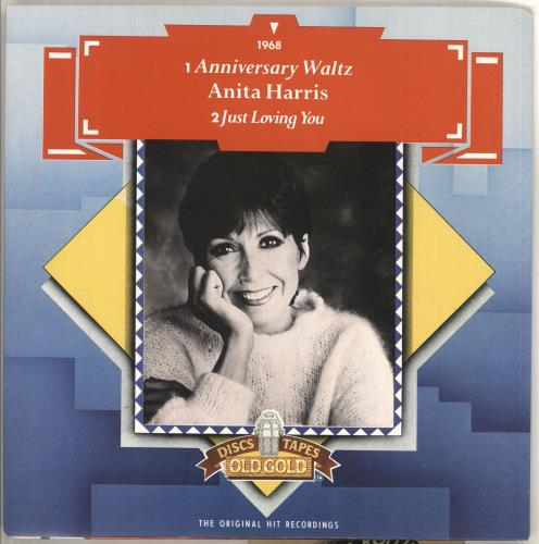 "Anita Harris Anniversary Waltz 7"" vinyl single (7 inch record) UK AHQ07AN405697"