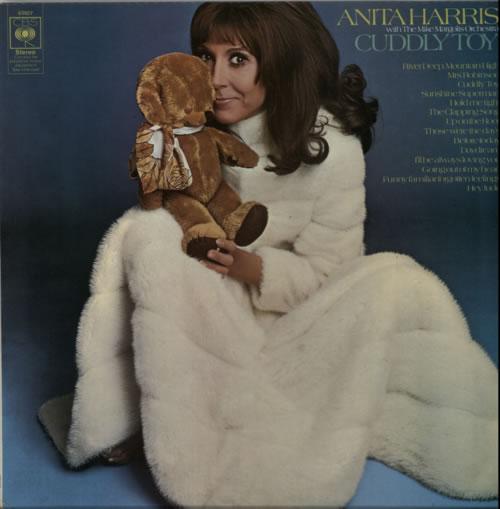 Anita Harris Cuddly Toy vinyl LP album (LP record) UK AHQLPCU613716