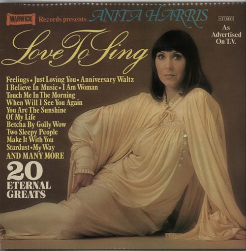 Anita Harris Love To Sing vinyl LP album (LP record) UK AHQLPLO639783