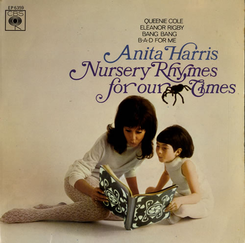 """Anita Harris Nursery Rhymes For Our Times EP 7"""" vinyl single (7 inch record) UK AHQ07NU613891"""