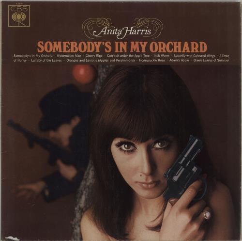 Anita Harris Somebody's In My Orchard vinyl LP album (LP record) UK AHQLPSO453437