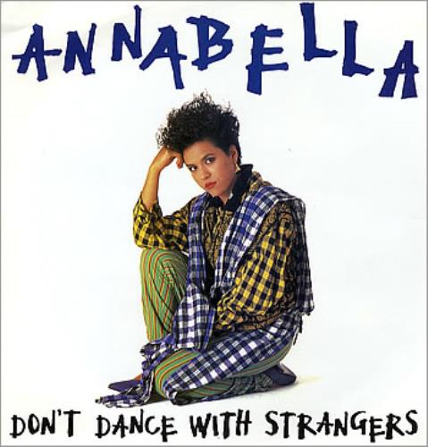 "Annabella Lwin Don't Dance With Strangers 12"" vinyl single (12 inch record / Maxi-single) UK LWN12DO284948"