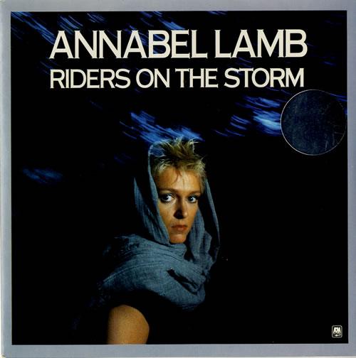 "Annabel Lamb Riders On The Storm 7"" vinyl single (7 inch record) UK ANB07RI225197"