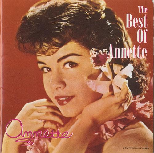 Annette Funicello The Best Of Annette CD album (CDLP) Japanese AO5CDTH460960