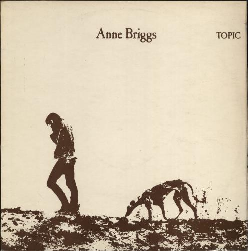 Anne Briggs Anne Briggs vinyl LP album (LP record) UK ARGLPAN717471