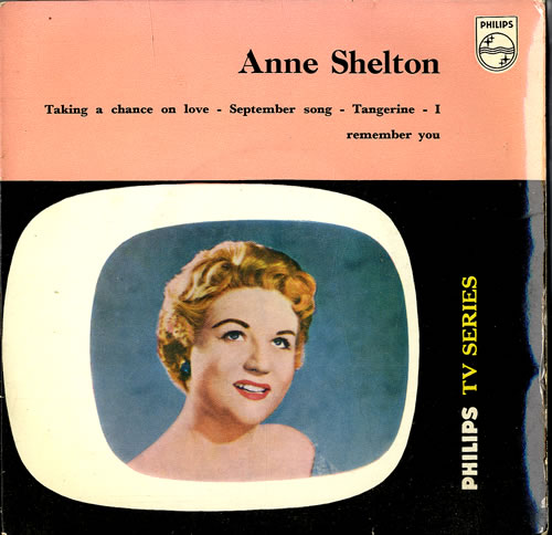 "Anne Shelton Anne Shelton EP 7"" vinyl single (7 inch record) UK AS307AN551105"
