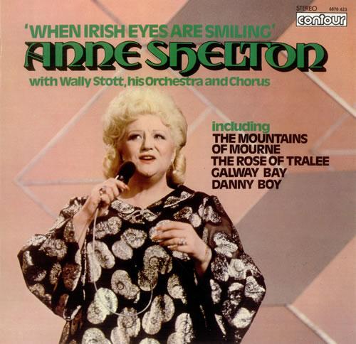 Anne Shelton When Irish Eyes Are Smiling vinyl LP album (LP record) UK AS3LPWH457265