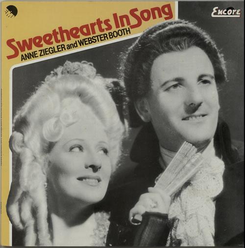 Anne Ziegler & Webster Booth Sweethearts In Song vinyl LP album (LP record) UK H79LPSW642300