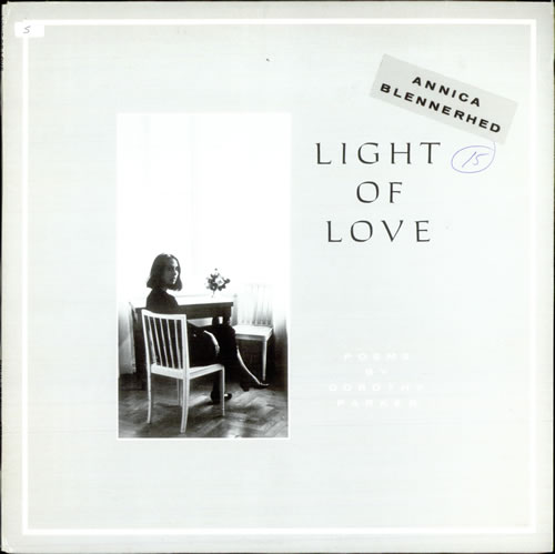 Annica Blennerhed Light Of Love media press kit Swedish A0NKILI517550