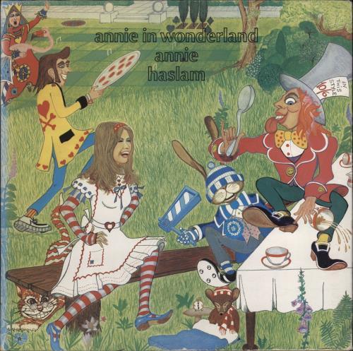 Annie Haslam Annie In Wonderland - Gatefold - EX vinyl LP album (LP record) UK AHSLPAN777100