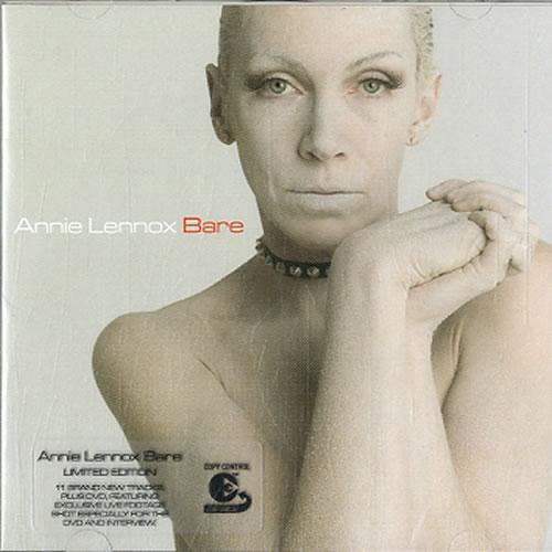 Annie Lennox Bare - Sealed 2-disc CD/DVD set UK ANN2DBA246776
