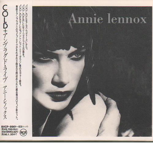 Annie Lennox Cold - Sealed 3-CD album set (Triple CD) Japanese ANN3CCO368123