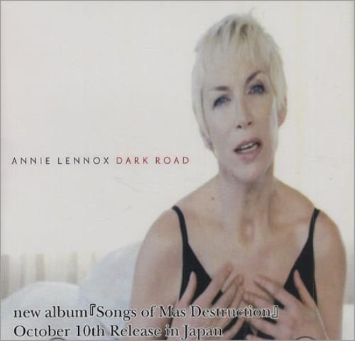 Annie Lennox Dark Road CD-R acetate Japanese ANNCRDA423998