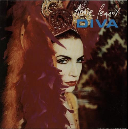 Annie Lennox Diva - EX vinyl LP album (LP record) UK ANNLPDI613089