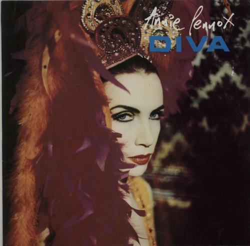 Annie Lennox Diva - VG vinyl LP album (LP record) UK ANNLPDI662935
