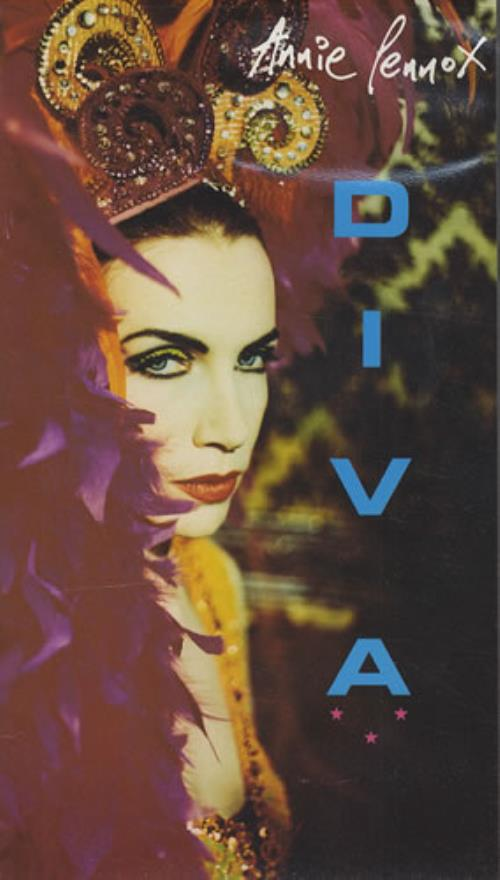Annie Lennox Diva video (VHS or PAL or NTSC) UK ANNVIDI177009