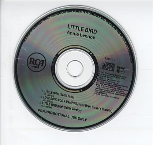 "Annie Lennox Little Bird CD single (CD5 / 5"") UK ANNC5LI20436"