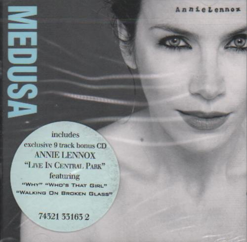 Annie Lennox Medusa Live In Central Park 2 CD album set (Double CD) Italian ANN2CME488301