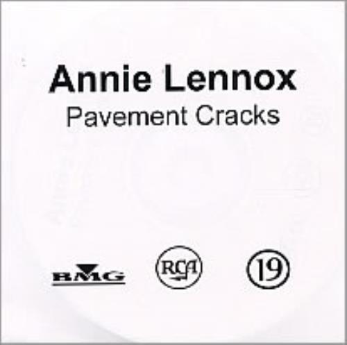 Annie Lennox Pavement Cracks CD-R acetate UK ANNCRPA247081