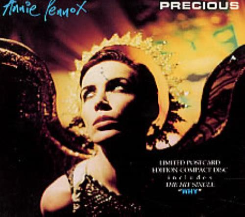 Annie Lennox Precious Postcard Sleeve Uk Cd Single Cd5