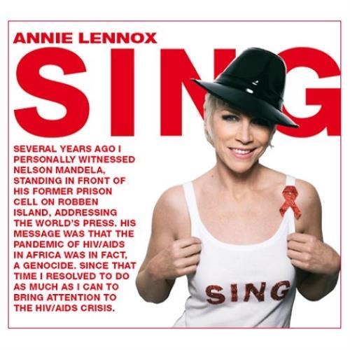 """Annie Lennox Sing CD single (CD5 / 5"""") UK ANNC5SI429416"""