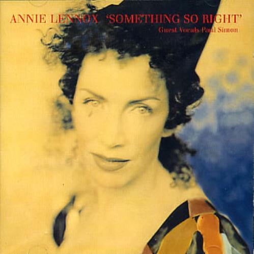 "Annie Lennox Something So Right CD single (CD5 / 5"") European ANNC5SO161970"