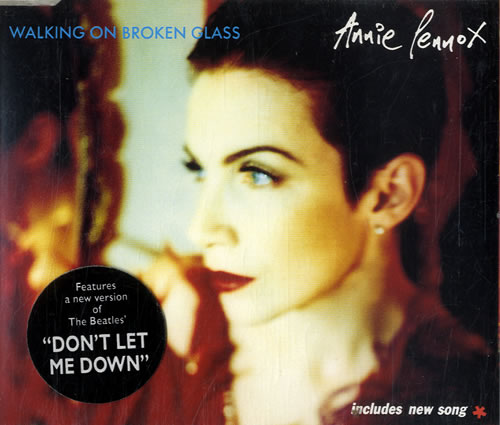 Annie Lennox Legend In My Living Room: Annie Lennox Walking On Broken Glass UK CD Single (CD5 / 5