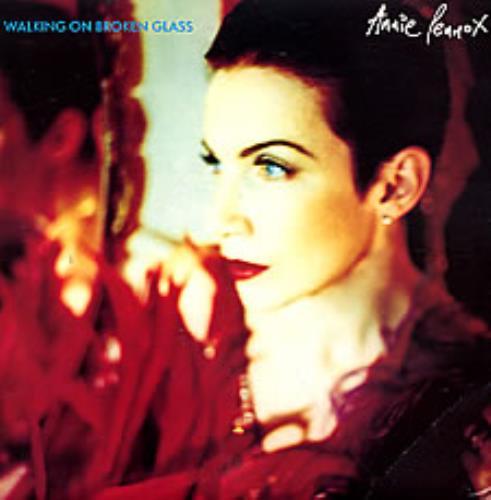 "Annie Lennox Walking On Broken Glass 7"" vinyl single (7 inch record) UK ANN07WA50200"