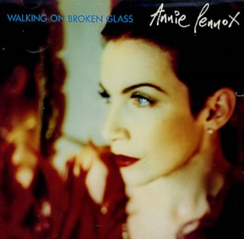 "Annie Lennox Walking On Broken Glass CD single (CD5 / 5"") US ANNC5WA08810"