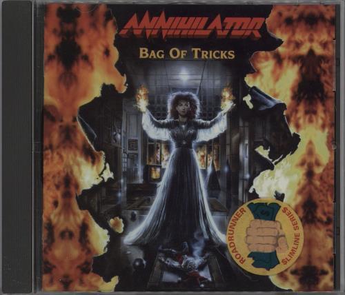 Annihilator Bag of Tricks CD album (CDLP) Dutch AO-CDBA751423