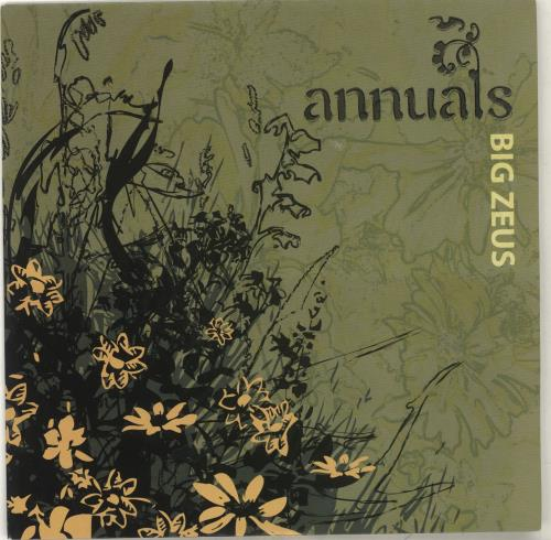 "Annuals Big Zeus 7"" vinyl single (7 inch record) UK QWN07BI702023"