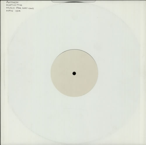 Anthem Hunting Time vinyl LP album (LP record) UK AE4LPHU603738