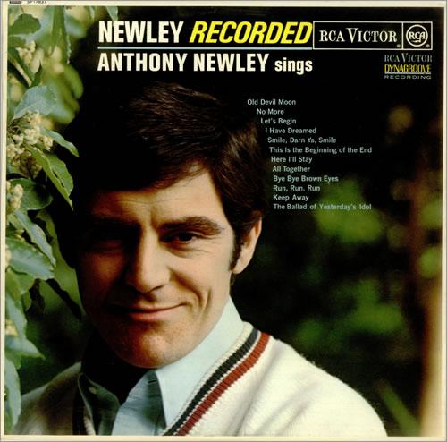 Anthony Newley Newley Recorded vinyl LP album (LP record) UK AN3LPNE455046