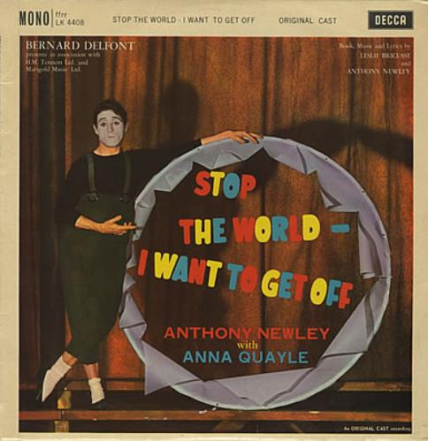 Anthony Newley Stop The World - I Want To Get Off vinyl LP album (LP record) UK AN3LPST373293