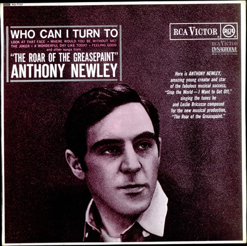 Anthony Newley Who Can I Turn To vinyl LP album (LP record) UK AN3LPWH510084