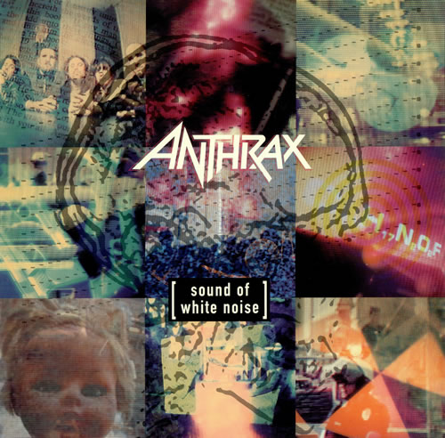 Anthrax Sound Of White Noise German Vinyl Lp Album Lp