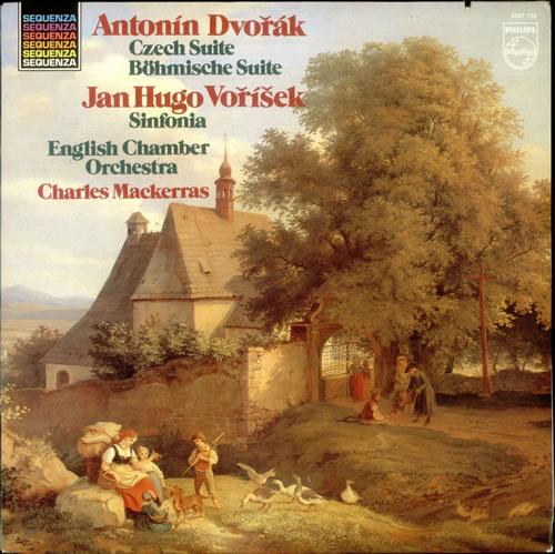 Antonín Dvorák Czech Suite, Op. 39 / Sinfonia in D vinyl LP album (LP record) Dutch DDQLPCZ534421
