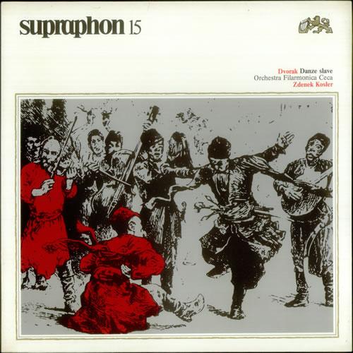 Antonín Dvorák Danze Slave 2-LP vinyl record set (Double Album) Czech DDQ2LDA539174