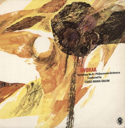 Antonín Dvorák Dvorak: Symphony No. 8 vinyl LP album (LP record) UK DDQLPDV745674