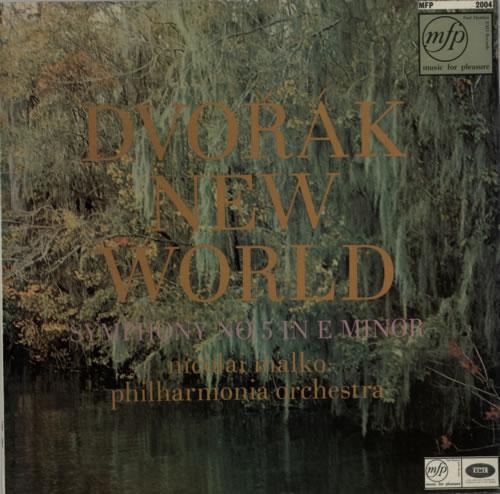Antonín Dvorák New World: Symphony No.5 in E Minor, Op.95 vinyl LP album (LP record) UK DDQLPNE588359