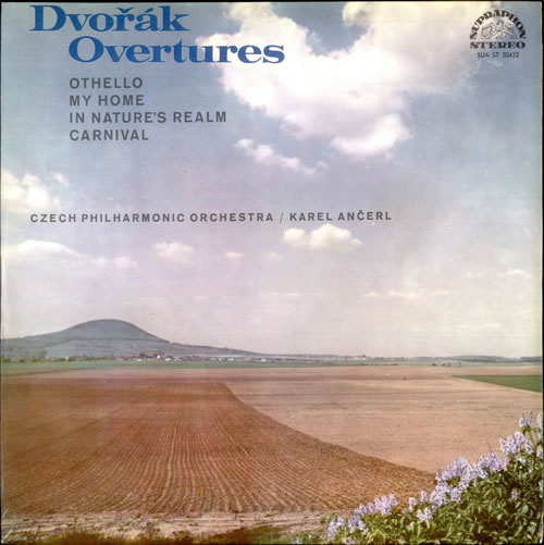 Antonín Dvorák Overtures vinyl LP album (LP record) Czech DDQLPOV526592