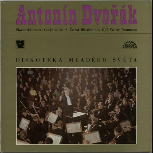 Antonín Dvorák Slovanské Tance / Ceská Suita 2-LP vinyl record set (Double Album) Czech DDQ2LSL632948