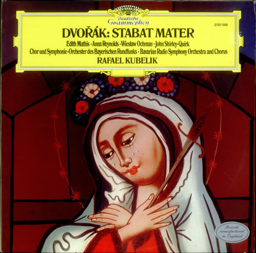 Antonín Dvorák Stabat Mater 2-LP vinyl record set (Double Album) UK DDQ2LST534574