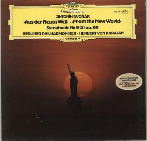 "Antonín Dvorák Symphonie Nr. 9 (5) ""Aus Der Neuen Welt"" + Booklet vinyl LP album (LP record) German DDQLPSY712806"