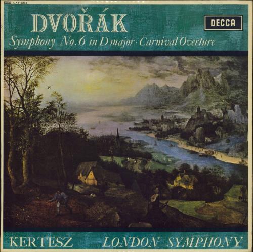 Antonín Dvorák Symphony No. 6 in D Major / Carnival Overture - NB vinyl LP album (LP record) UK DDQLPSY769813