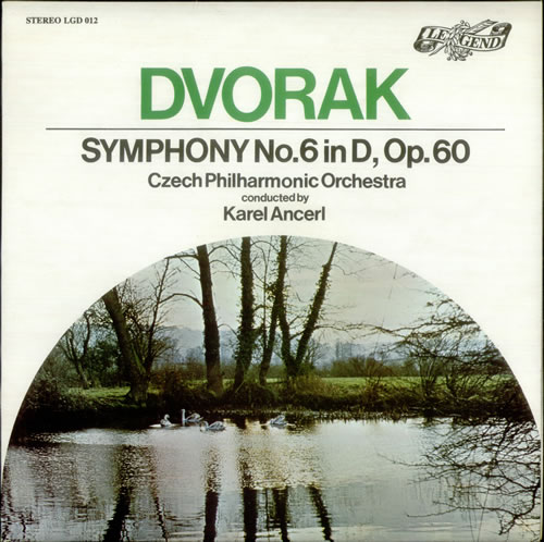 Antonín Dvorák Symphony No. 6 in D, Op. 60 vinyl LP album (LP record) UK DDQLPSY539031
