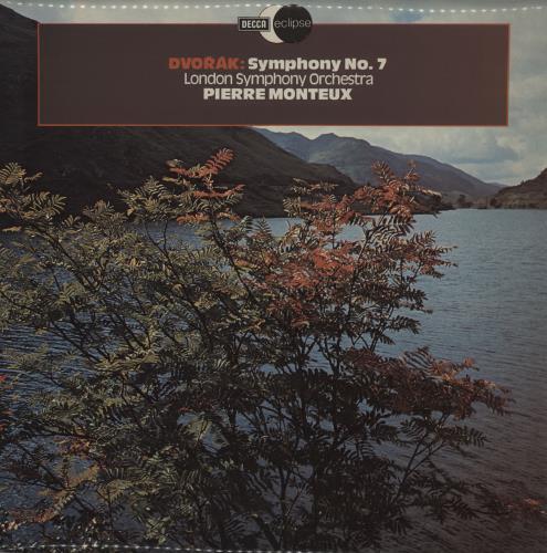 Antonín Dvorák Symphony No. 7 vinyl LP album (LP record) UK DDQLPSY759058
