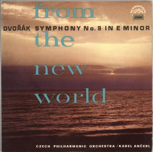 "Antonín Dvorák Symphony No. 9 in E Minor ""From The New World"" vinyl LP album (LP record) Czech DDQLPSY711873"