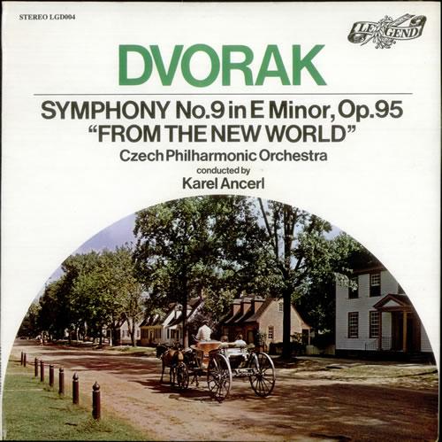 Antonín Dvorák Symphony No. 9 in E minor, Op. 95 'From the New World' vinyl LP album (LP record) UK DDQLPSY538911